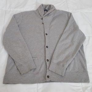 Polo Ralph Lauren Cardigan Sweater Mens XXL Gray